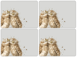 4 Placemats (40,1 cm.) - Pimpernel Wrendale Owl