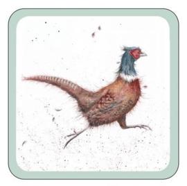 Onderzetters Pheasant (8) - Pimpernel Wrendale