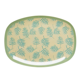 Melamine Bord Palm Leaves (30 cm.) - Rice