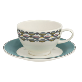 Kop & Schotel Turquoise (0,24 l.) - Portmeirion Westerly