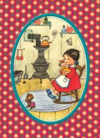 Ansichtkaart Poppenmoeder - Froy & Dind