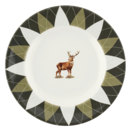 Bord Stag (16,5 cm.) - Spode Glen Lodge