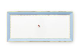 Serveerschotel Blue (33,2 cm.) - Pip Studio Love Birds