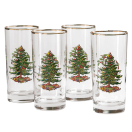 Highball Glas - Spode Christmas Tree
