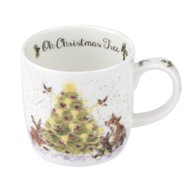 Mok Oh Christmas Tree (0,31 l.) - Wrendale Designs