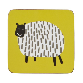 4 Onderzetters Dotty Sheep - Ulster Weavers