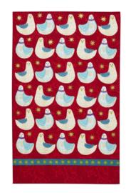 Linnen Theedoek Christmas Doves - Ulster Weavers