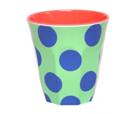 Beker Melamine Happy Dots Green (200 ml.) - Ginger