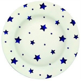 Melamine Dinerbord Blue Star (25,5 cm.) - Emma Bridgewater