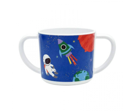 2-Oren Mok Melamine Happy in Space (150 ml.) - Ginger