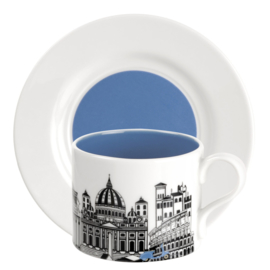 Theekop & Schotel Rome (0,28 l.) - Portmeirion Cityscapes