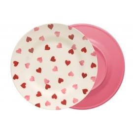 Dinerbord Melamine Pink Hearts - Emma Bridgewater