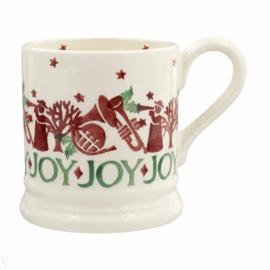 1/2 Pt Mug Joy Trumpets - Emma Bridgewater Christmas Joy