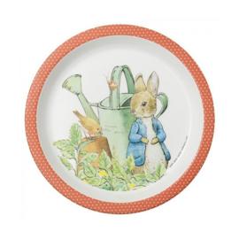 Bord Peter Rabbit Corail (18 cm.) - Petit Jour Paris