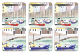 Onderzetters (6) - Pimpernel Harbour