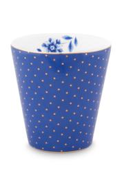 Beker Dots Blue (230 ml.) - Pip Studio Royal Stripes
