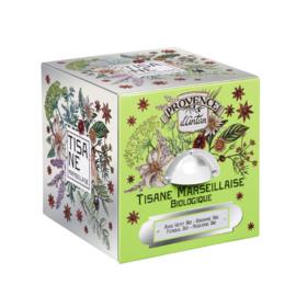 Blik Tisane Marseillaise (24 zakjes) - Provence d'Antan