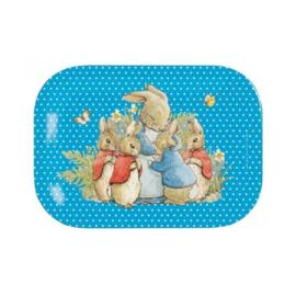 Dienblaadje Peter Rabbit Blue (20,5 cm.) - Petit Jour Paris