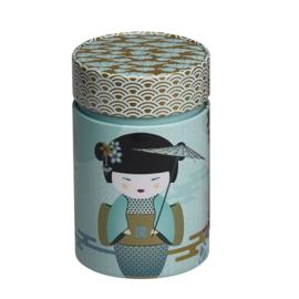 Rond Theeblik New Little Geisha Petrol - EIGENart