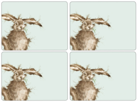 4 Placemats (40,1 cm.) - Pimpernel Wrendale Hare