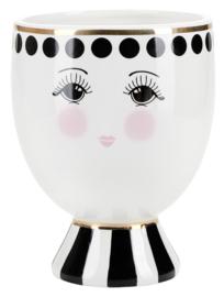 Bloempot Open Eyes (18 cm.) - Miss Étoile