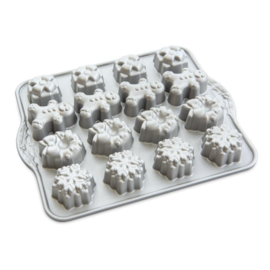 Holiday Teacakes Cakelet Bakvorm - Nordic Ware
