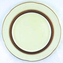 Ontbijtbord (23,8 cm.) - Noritake Ardmore Gold