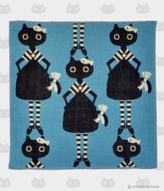 Handdoekje / Servet Meme Blauw (36 cm.) - Atsuko Matano