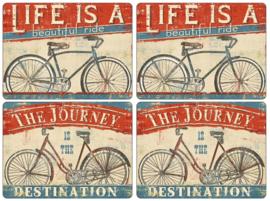 4 Placemats (40,1 cm.) - Pimpernel Beautiful Ride