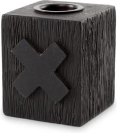 Houten Kandelaar Cross (6 cm.) - vtwonen