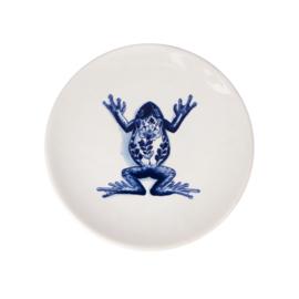 Bord Frog The Wunderkammer (19,5 cm.) - Royal Delft