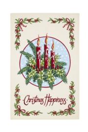 Katoenen Theedoek Christmas Candles - Ulster Weavers