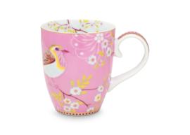Mok Large Pink (350 ml.) - Pip Studio Early Bird