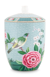 Voorraadpot Blushing Birds Blue (1,5 l.) - Pip Studio