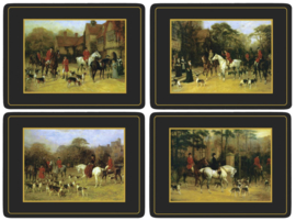 4 Placemats (40,1 cm.) - Pimpernel Tally Ho