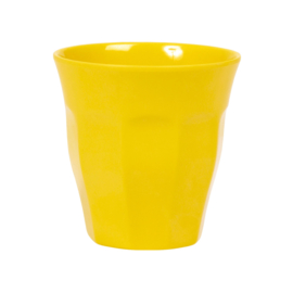 Melamine Beker Geel Medium - Rice