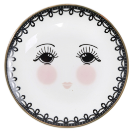 Bord Lace & Eyes (17,8 cm.) - Miss Étoile