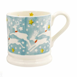 1/2 Pt Mug Reindeer in the Sky - Emma Bridgewater