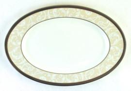 Zuurschaal (22,2 cm.) - Noritake Satin Lace