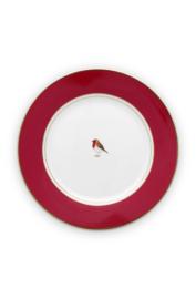 Ontbijtbord Red (21 cm.) - Pip Studio Love Birds