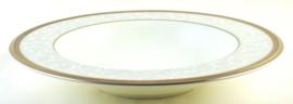 Diep Bord (21,7 cm.) - Noritake Lenore Platinum