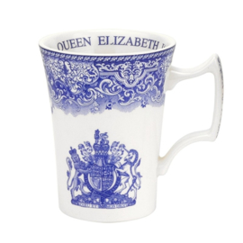 Mok Queen Elizabeth - Spode Blue Room