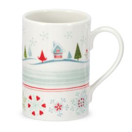 Mok Village (0,35 l.) - Portmeirion Christmas Wish