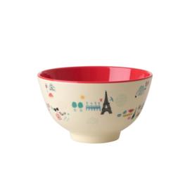 Melamine Schaal Paris (11,3 cm.) - Rice
