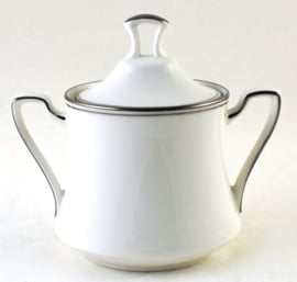Suikerpot - Noritake Platinum Traditions