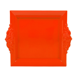 Dienblaadje Oranje (23,5 cm.) - Sema Design