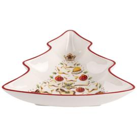 Kerstboom Schaal (17,2 cm.) - Villeroy & Boch Winter Bakery Delight