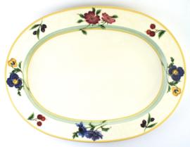 Serveerschotel (35,5 cm.) - Noritake Ambiance Jolie Fleur