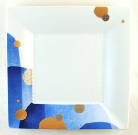 Vierkant Bord (22,8 cm.) - Noritake Rizmo