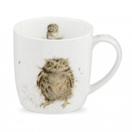 Mok What a Hoot (0,31 l.) - Wrendale Designs